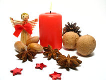 Christmas still life Stock Photos