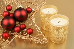 Christmas still-life Royalty Free Stock Photo