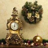 Christmas still life with bright symbols Royalty Free Stock Photos