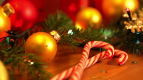 Christmas Still Life stock footage