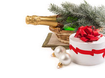Christmas still life. Stock Photo