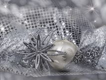 Christmas still life with decorations Royalty Free Stock Photos