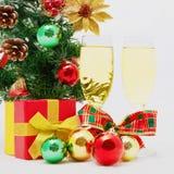 Christmas still life.Happy New Year Royalty Free Stock Photography