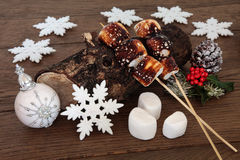 Christmas Still Life Scene Royalty Free Stock Image