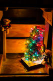Christmas still life. With teddy bears Royalty Free Stock Photography