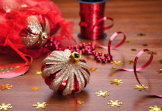 Christmas still life. Royalty Free Stock Photo