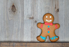 Christmas still life with traditional gingerbread cookies Royalty Free Stock Images