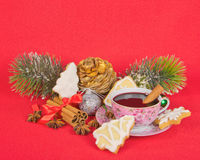 Christmas stilllife Royalty Free Stock Image