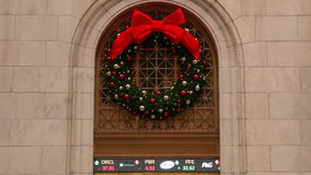 Christmas Stock Quotes. Seamless Loop stock footage