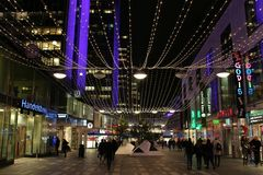 Christmas in Stockholm Royalty Free Stock Photography