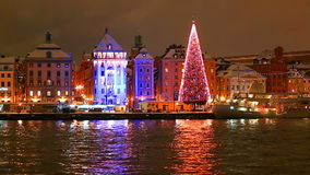 Christmas in Stockholm, Sweden Stock Photography
