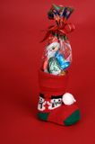Christmas stocking Royalty Free Stock Images