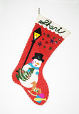 Christmas Stocking. On a white background Stock Photography