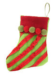 Christmas stocking Stock Image