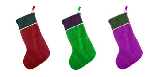 Christmas stocking Stock Photos