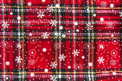 Christmas Stocking Background Texture Royalty Free Stock Photos