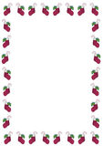 Christmas Stocking Border Royalty Free Stock Photo
