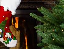 Christmas stocking royalty free stock photo