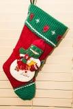 Christmas Stocking Hanging Stock Photos