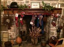 Christmas stocking Royalty Free Stock Photos