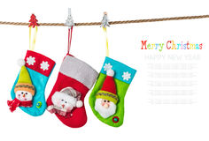 Christmas stocking Stock Photography
