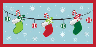 Christmas Stockings Stock Image