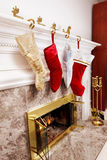 Christmas Stockings Royalty Free Stock Photos