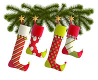 Christmas Stockings Royalty Free Stock Photography