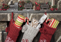 Free Christmas Stockings Stock Images - 60014514