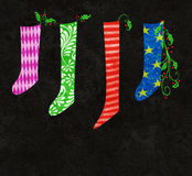 Christmas Stockings Stock Photography