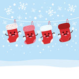 Christmas Stockings Winter Stock Images