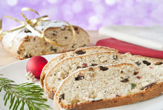 Christmas Stolle Stock Image