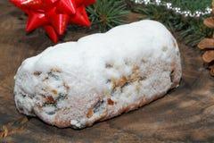 Christmas stollen Stock Photos