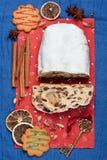 Christmas Stollen Royalty Free Stock Photos