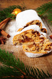 Christmas Stollen Royalty Free Stock Images