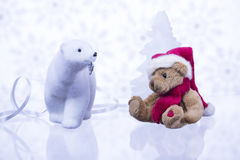 Christmas story about bears. Stock Photography