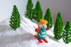Christmas story Royalty Free Stock Image