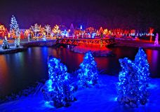 Christmas story in Croatia Stock Image