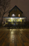 The Christmas Story House. In the Tremont neighborhood of Cleveland, Ohio royalty free stock photography