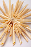 Christmas straw star,  Stock Image