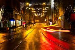 Christmas street Royalty Free Stock Photo
