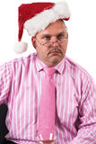 Christmas stress Stock Photo