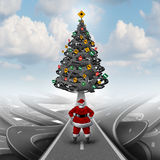 Christmas Stress Guide Royalty Free Stock Images