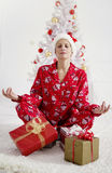 Christmas stress relief Stock Photo