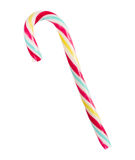 Christmas striped candy cane Royalty Free Stock Images