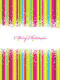 Christmas stripes Royalty Free Stock Photo