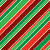 Christmas Stripes. A background pattern of stripes in Christmasl colors Royalty Free Stock Image