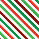 Christmas Stripes. A background pattern of stripes in Christmas colors Royalty Free Stock Image