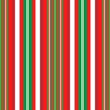 Christmas Stripes. A background pattern of stripes in Christmas colors Stock Photography