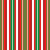 Christmas Stripes Stock Photography